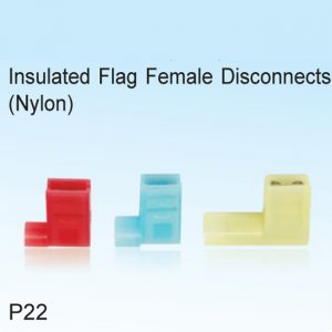 Insulated Flag Female Disconnects (Nylon)