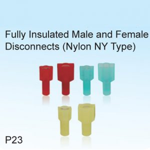 Fully Insulated Male and Female Disconnects (Nylon NY Type)