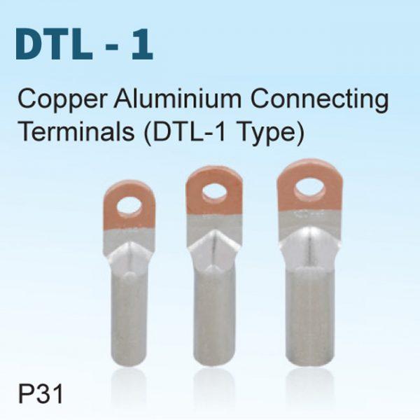 Copper Aluminium Connecting Terminals (DTL-1 Type)