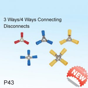 3 Ways/4 Ways Connecting Disconnects