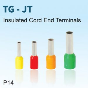 Insulated Cord End Terminals - TG-JT