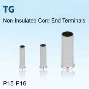 Non-Insulated Cord End Terminals