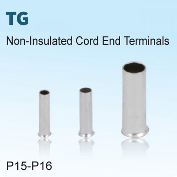 Non-Insulated Cord End Terminals