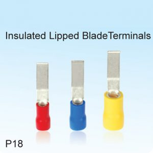 Insulated Lipped BladeTerminals