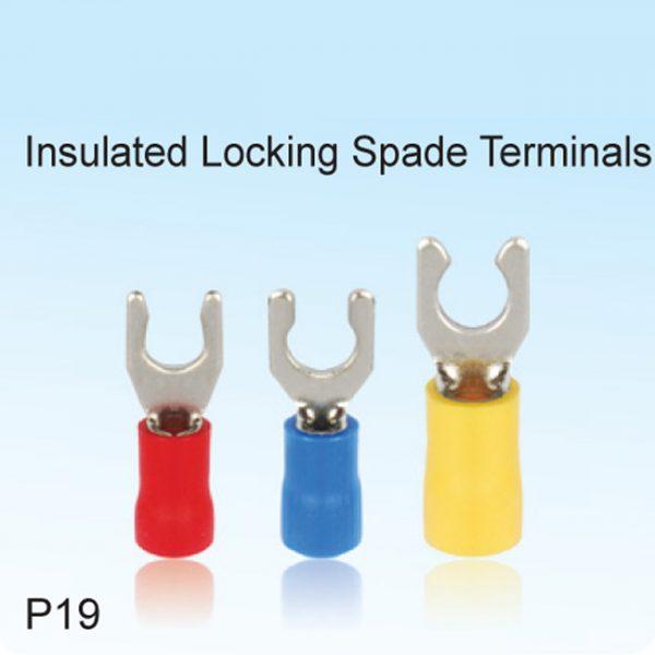 Insulated Locking Spade Terminals