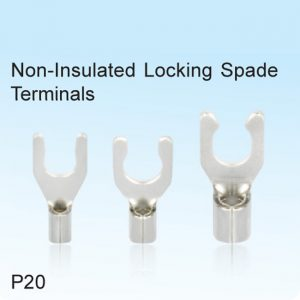 Non-Insulated Locking Spade Terminals