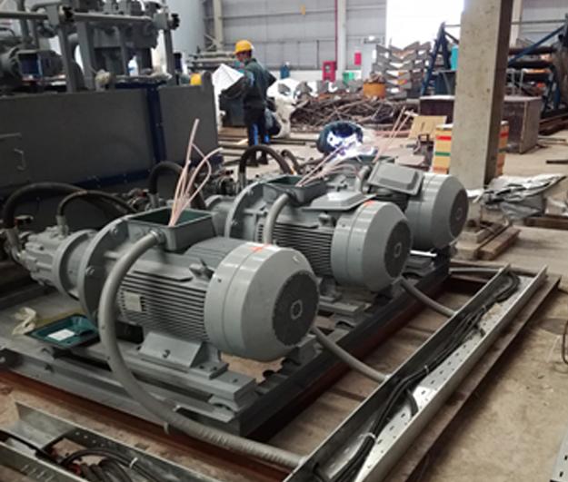 Hệ thống điện Dây chuyền Tẩy Rỉ - Phase 2 Nhà máy Tôn Đông Á.