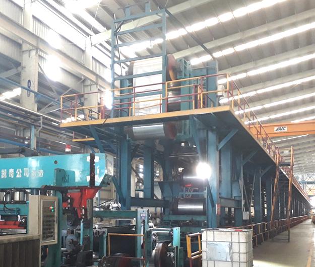 Thi công lắp hệ thống điện dây chuyền mạ Nof nhà máy Tôn Hoa Sen